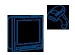 Fixed/Vehicle Mount Data Terminal